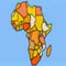 Geography Game - Africa - Jogo de Puzzle